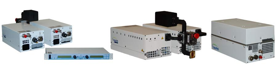 Stellar range of high-power amplifiers